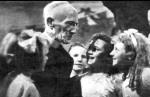 The Revd. Rutter at a dance in 1942 in the Hydro