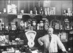 Mr Stubbs in his shop